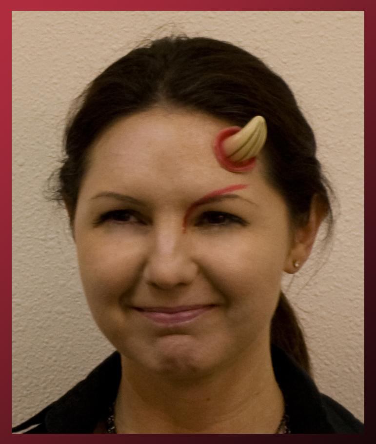 using red costume - Devil Horns For Halloween