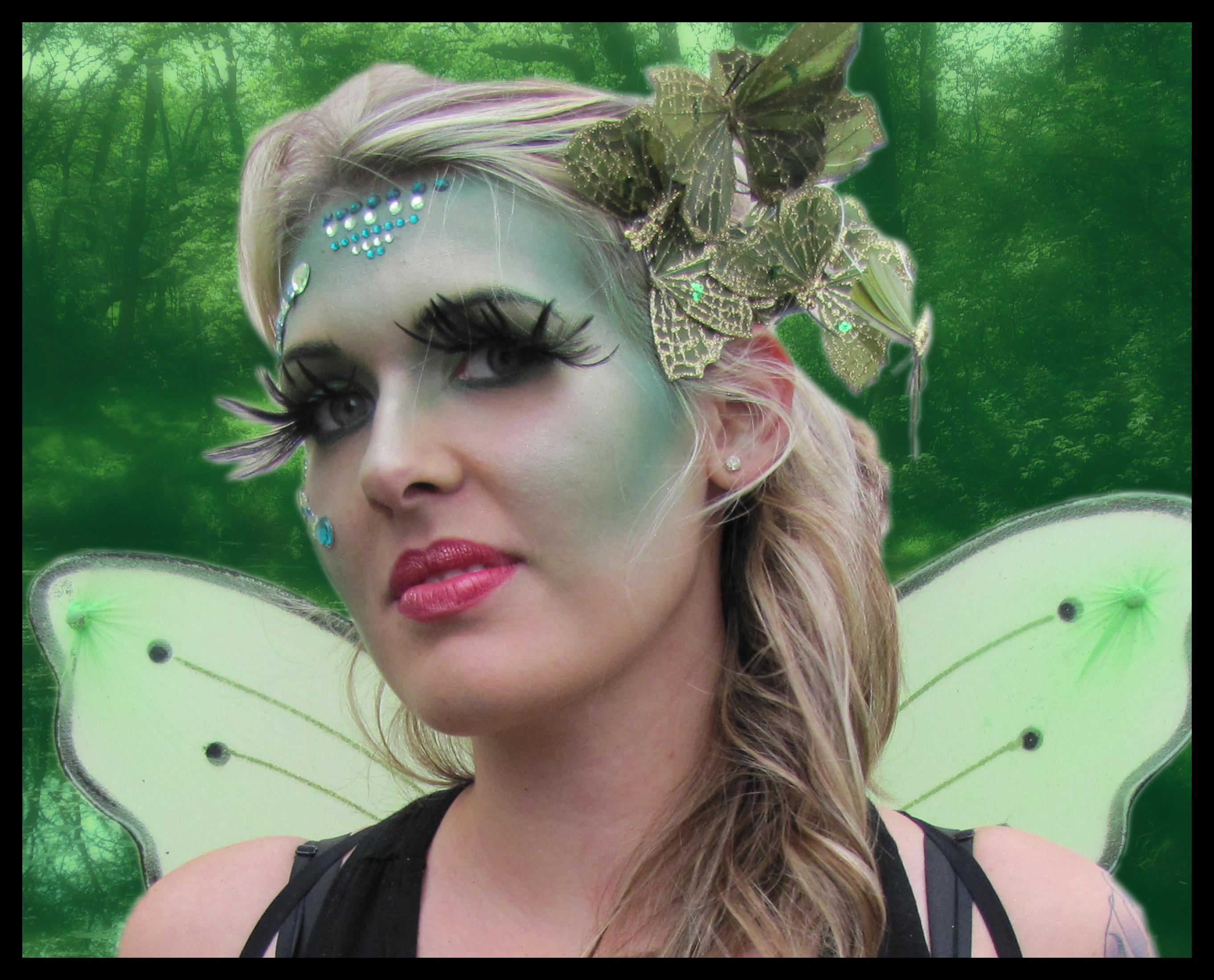 Halloween Forest Fairy Makeup Look | scentsa