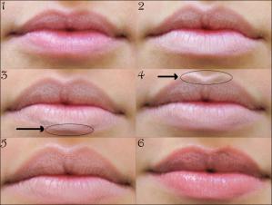 Как сделать губы полными