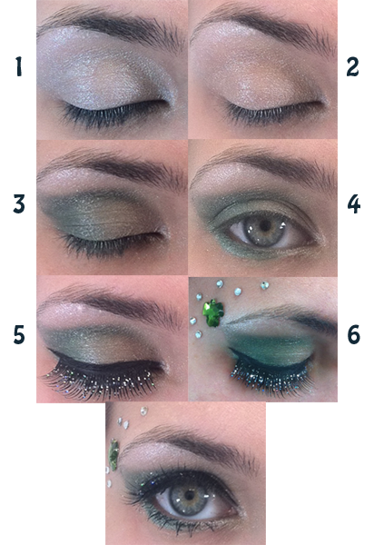 Day Eyeshadow Tutorial: Scentsa