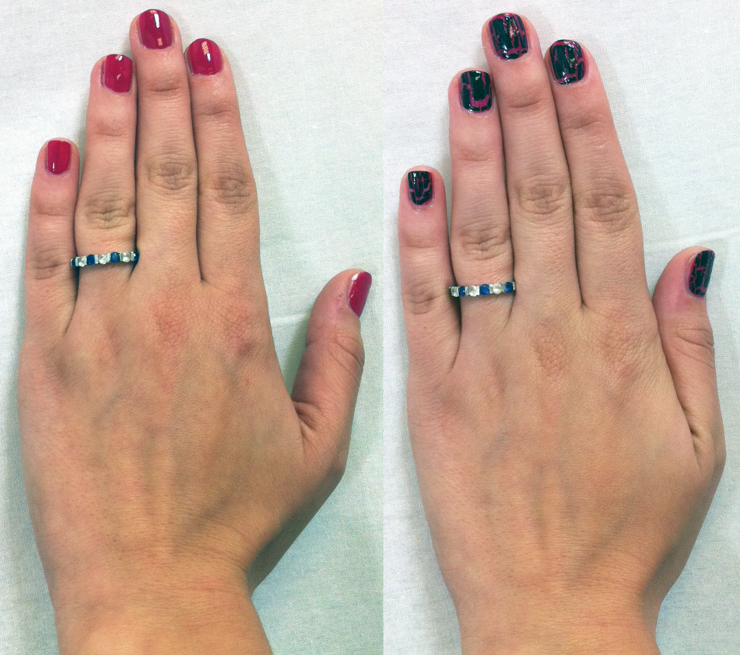 Finger Nail Paint: Scentsa