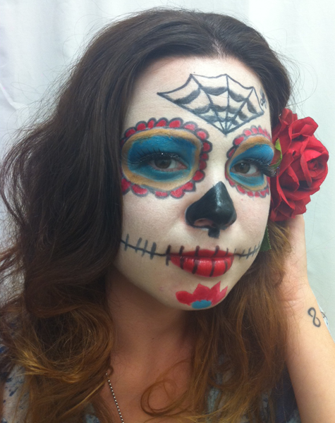 halloween costume sugar skull 13 oct with halloween approaching